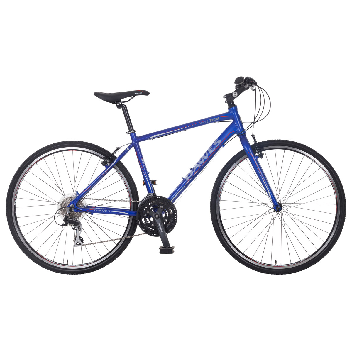 Dawes Discovery 301 Hybrid Bike – 3 Days Hire