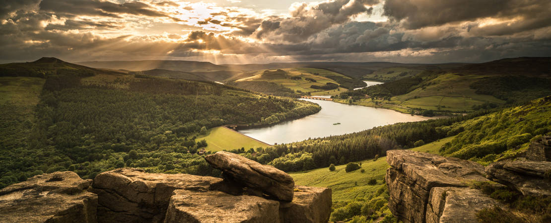 Stannage Edge, Lady Bower and Castleton5
