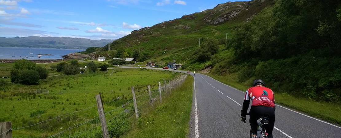 On way to Sutherland