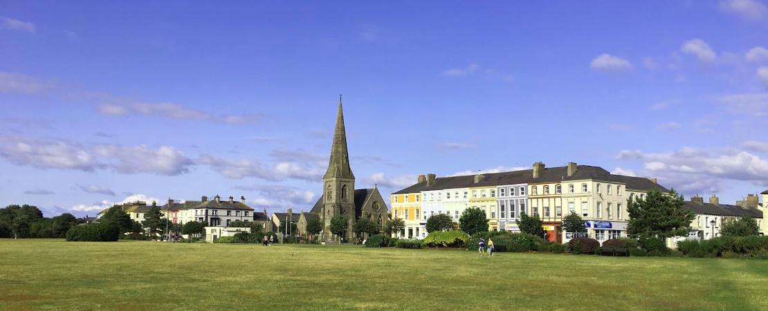 Church Village green