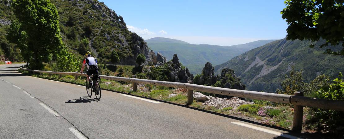 Cycle into Nice