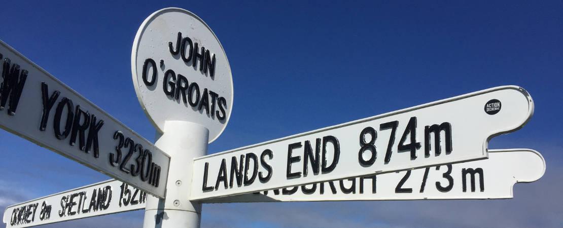 JOG signpost