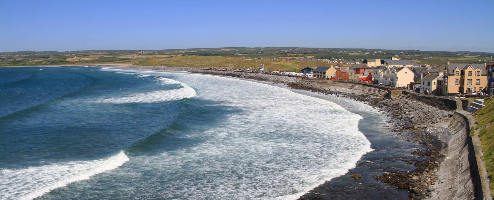 Lahinch coastline